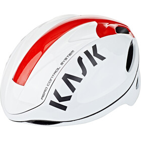 Kask Infinity Fietshelm, white/red